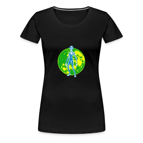 Alien Moon - Women's Premium T-Shirt