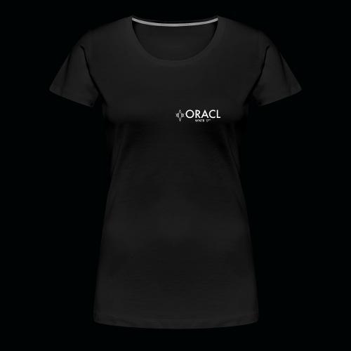 ORACL LOGO WHITE - Women's Premium T-Shirt