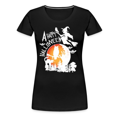 A Happy Halloween - Women's Premium T-Shirt