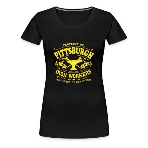 Pittsburgh Iron Workers - Women's Premium T-Shirt