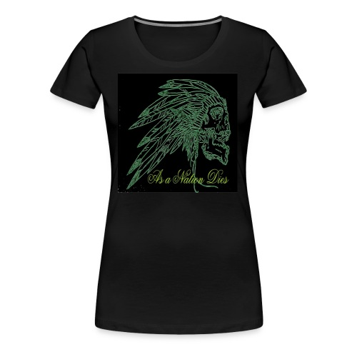 green indian - Women's Premium T-Shirt