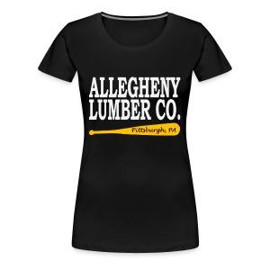 Allegheny Lumber Company - Women's Premium T-Shirt