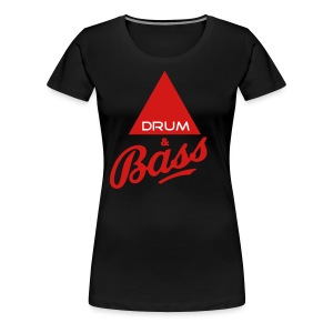 Drum and Bass - Women's Premium T-Shirt