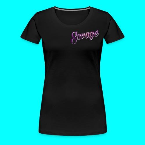 Savage Ware - Women's Premium T-Shirt