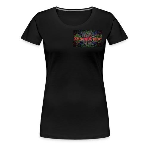 X-tremeKneon logo (YouTuber) - Women's Premium T-Shirt