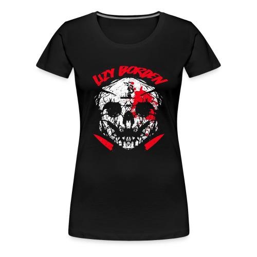 Lizy Borden Survival Skull - Women's Premium T-Shirt