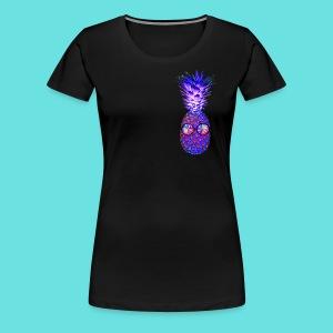 Trippy Pineapple - Women's Premium T-Shirt