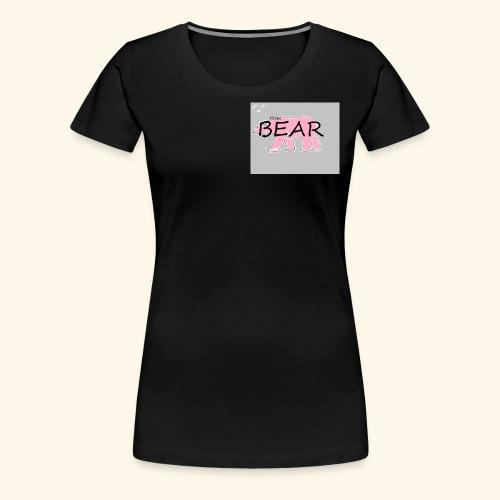 The Pink Bear - Women's Premium T-Shirt