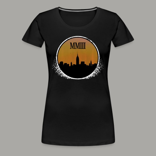 Blackout (Weathered) - Women's Premium T-Shirt
