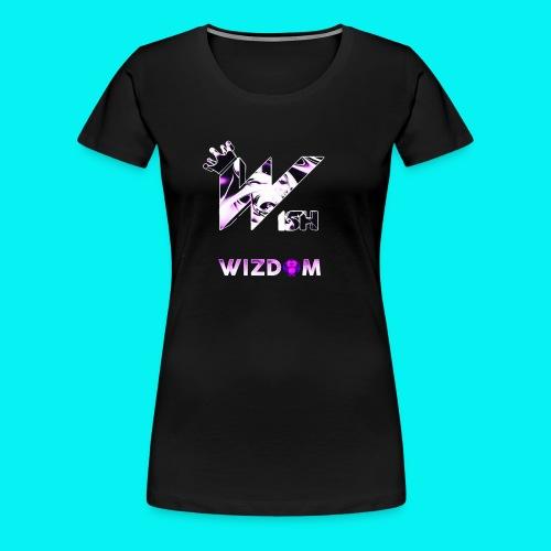 Wizdom 2.0 Logo - Women's Premium T-Shirt