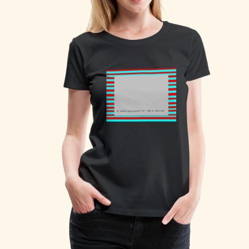 Retro Gaming Tape Loading Error 80s retro revival - Women's Premium T-Shirt