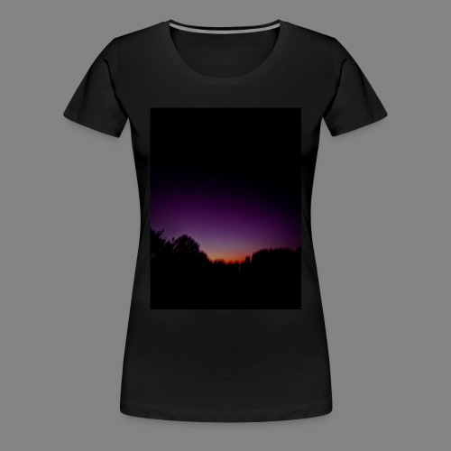 purple sunrise - Women's Premium T-Shirt