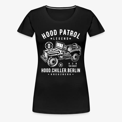 Hood Patrol Jeep Hood Chiller Berlin - Women's Premium T-Shirt