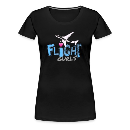 FLIGHT GURLS - Women's Premium T-Shirt