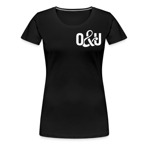 Outcasts and Underdogs logo - Women's Premium T-Shirt
