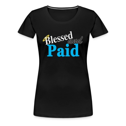 Baby Blue Angel - Women's Premium T-Shirt