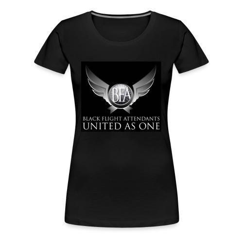 BFAU black n silver - Women's Premium T-Shirt