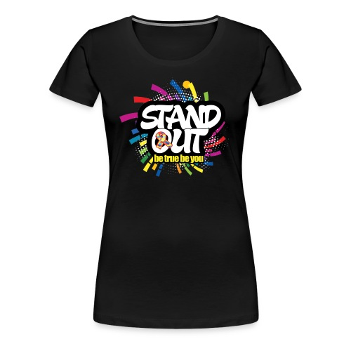 Autism Awareness Tees Stand Out - Women's Premium T-Shirt