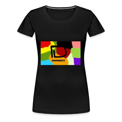 DwayneRektz Dye - Women's Premium T-Shirt