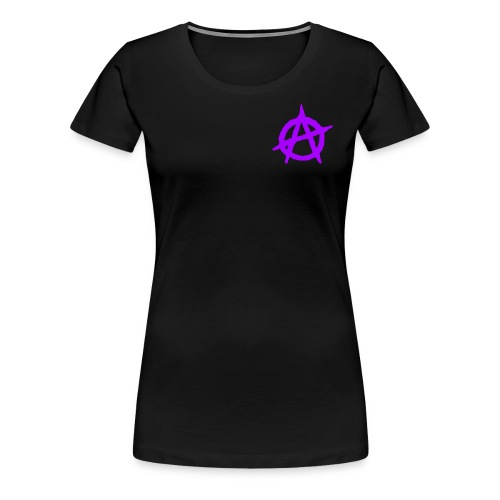 ANVRCHY purple - Women's Premium T-Shirt