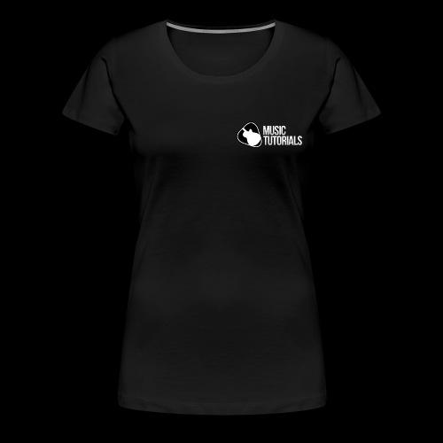 Music Tutorials Logo - Women's Premium T-Shirt