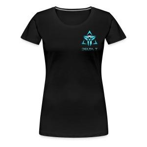Delta T new Logo - Women's Premium T-Shirt