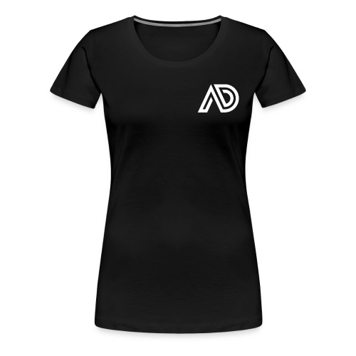 Basic White Logo - Women's Premium T-Shirt
