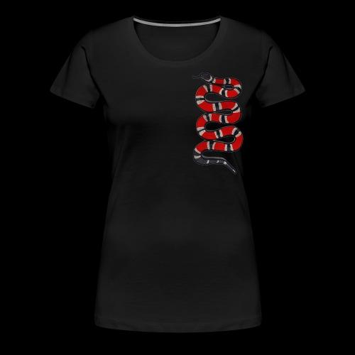 Fye Snake - Women's Premium T-Shirt