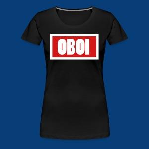 OBOI LOGO - Women's Premium T-Shirt
