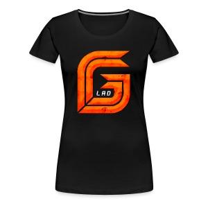GG_Lad Logo - Women's Premium T-Shirt
