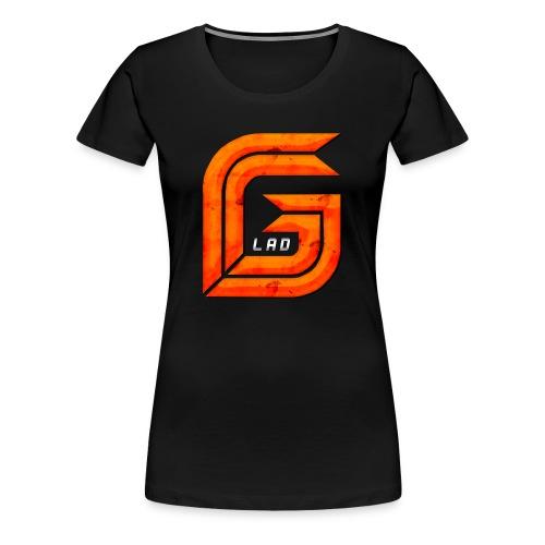 Classic Large GG Lad Logo - Women's Premium T-Shirt