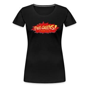 FiveGeeks.Blog - Women's Premium T-Shirt