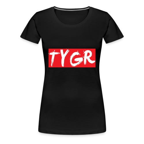 supreme tygr bxlogo - Women's Premium T-Shirt