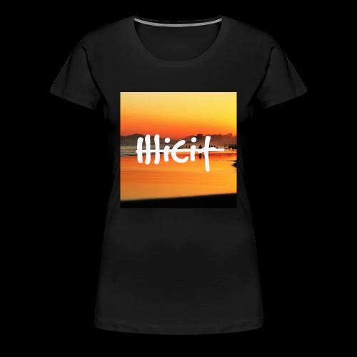 illicit sunset - Women's Premium T-Shirt