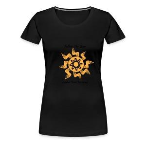 Follow The Sun - Women's Premium T-Shirt