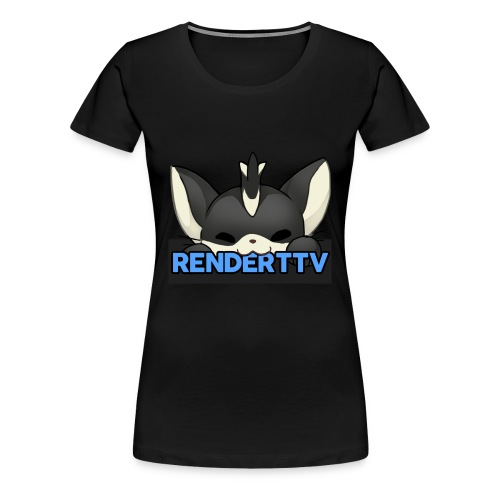 renderttv avatar - Women's Premium T-Shirt