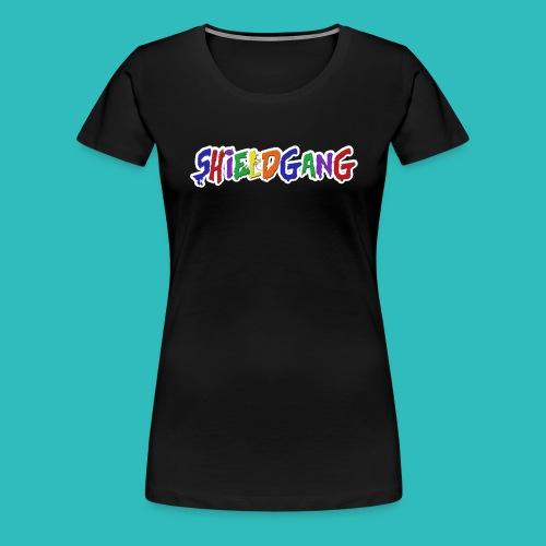 SHIELD GANG - Women's Premium T-Shirt