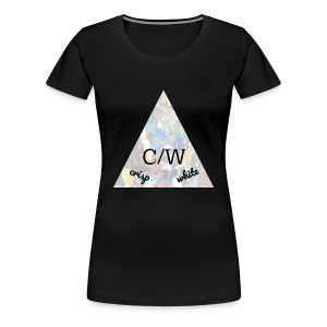 crisp white - Women's Premium T-Shirt