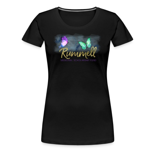 Rummell Memorial Scholarship Fund - Women's Premium T-Shirt