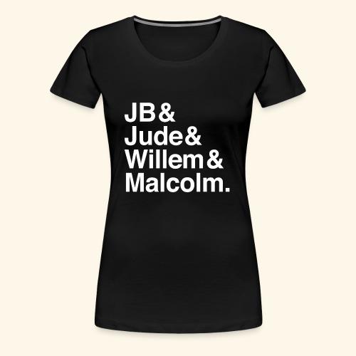 jude jb willem malcolm merch - Women's Premium T-Shirt