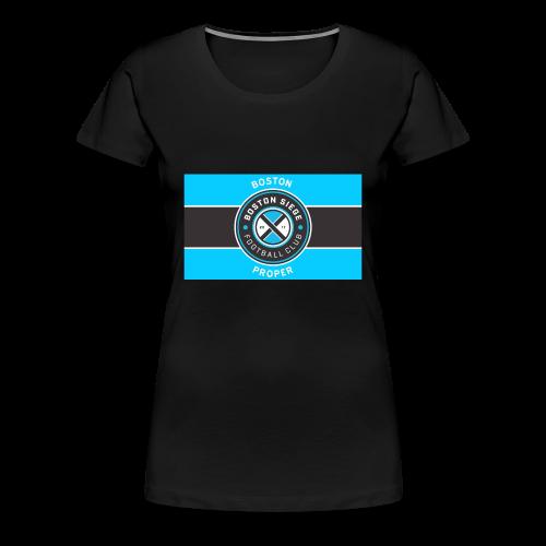 Boston Proper Flag Design - Women's Premium T-Shirt