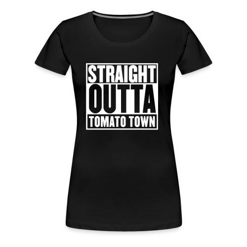 Straight Outta Tomato Town - Battle Royale - Women's Premium T-Shirt