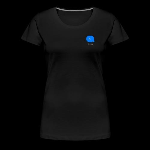 k. - Women's Premium T-Shirt