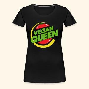 The Vegan Queen - Women's Premium T-Shirt