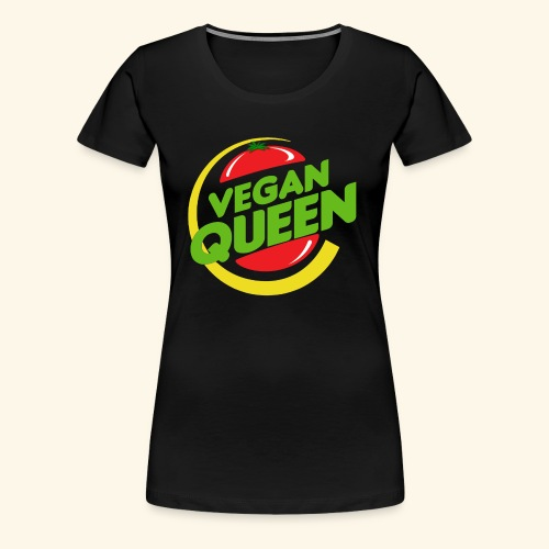 The Vegan Queen - Women's Premium T-Shirt