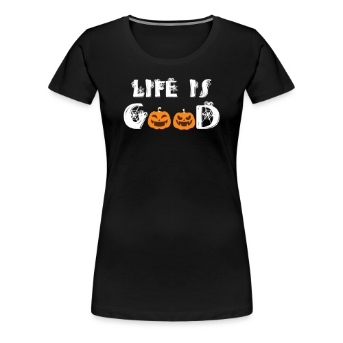 Cute Halloween Pumpkin Patch - Women's Premium T-Shirt