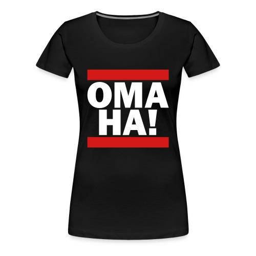 OMAHA SHIRT - Women's Premium T-Shirt