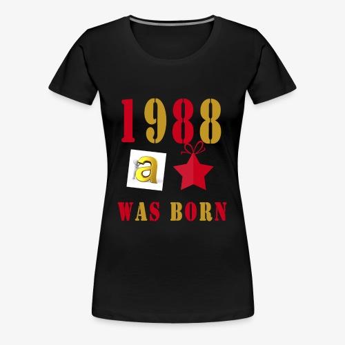 1988 - Women's Premium T-Shirt