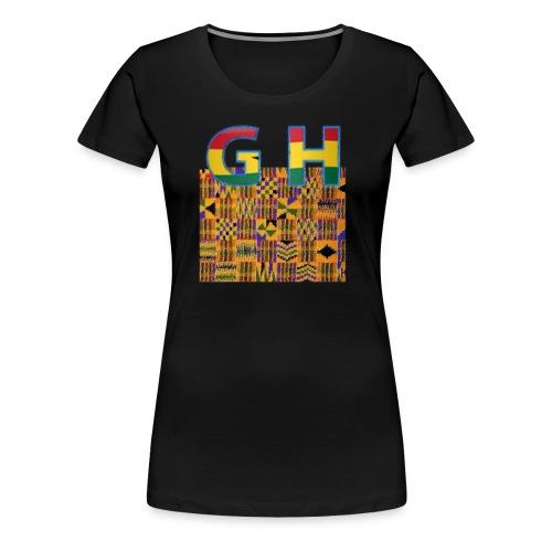 Ghana Pride - Women's Premium T-Shirt