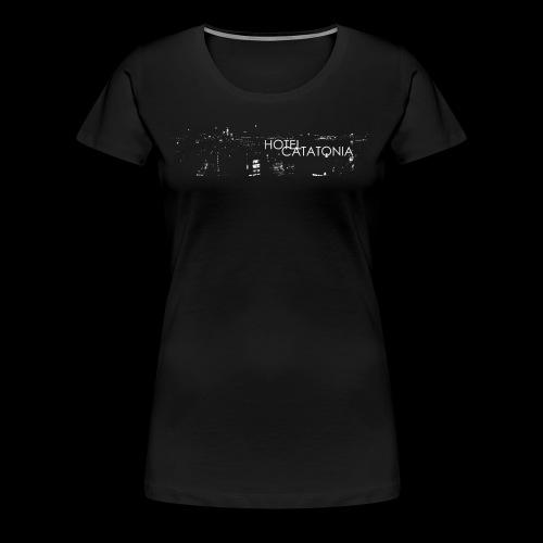 Hotel Catatonia logo image - Women's Premium T-Shirt
